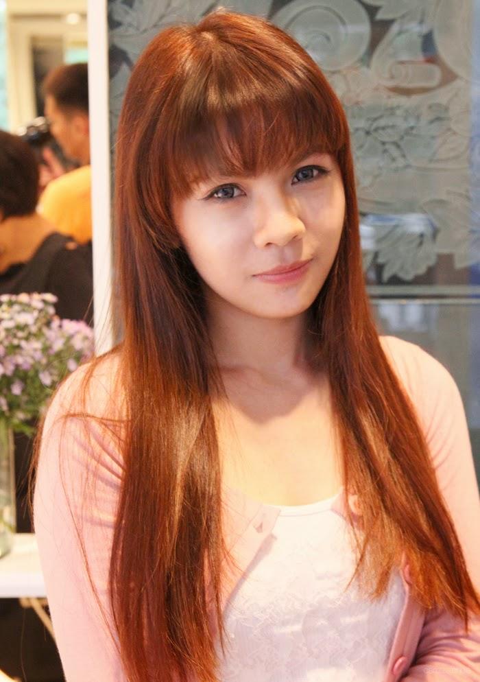 Loreal Hair Color Makeover At Regine S Salon Carizza Chua
