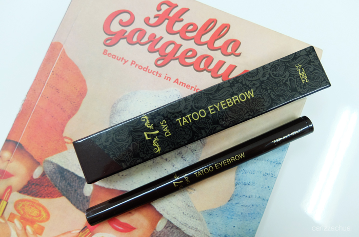 Tony Moly 7 Days Tattoo Eyebrow Carizza Chua