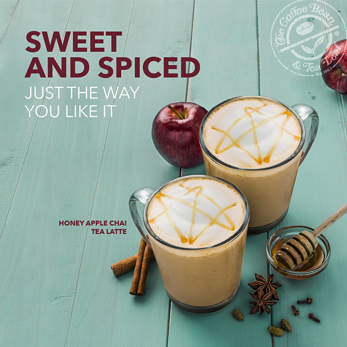 The Coffee Bean & Tea Leaf's Honey Apple Chai Tea Latte