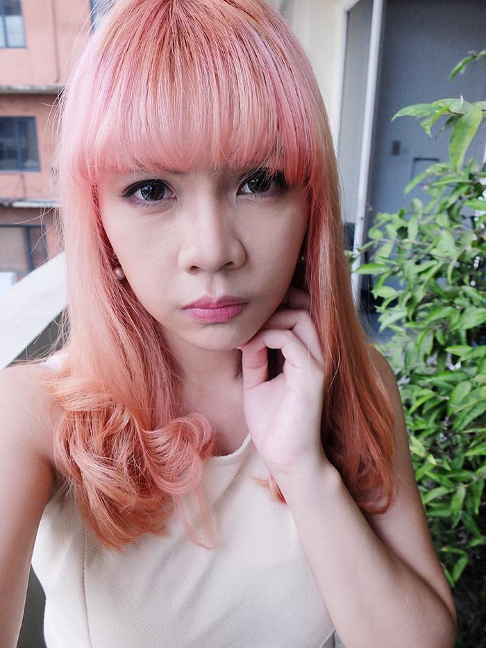 DIY Pink Hair
