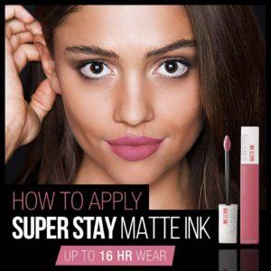 Maybelline Superstay Matte Ink Liquid Lipstick 2