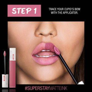 Maybelline Superstay Matte Ink Liquid Lipstick 3